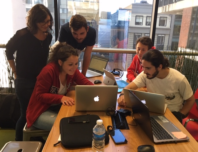 Entrepreneurial Students Visiting SF From France